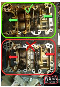 Audi oljepumpar